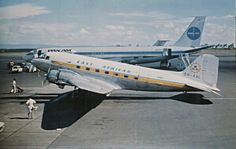 EAST AFRICAN AIRWAYS DC-3 5H-AAL