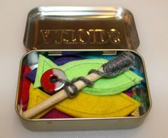 This is a guide about crafts made using Altoids tins. Altoids tins, like their predecessors including the Sucrets tin from days gone by, beg to be reused for storage or crafts.