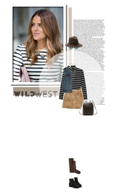 """""""// 1016. Wild West Style."""" by lilymcenvy ❤ liked on Polyvore featuring Free People, Monki, Tiffany & Co., H&M, rag & bone, Sperry, MANIAMANIA and wildwest"""