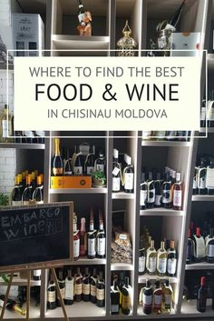 Where to find the best food and wine in Chisinau, Moldova