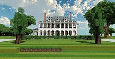 Plantation Mansion | Minecraft Building Inc