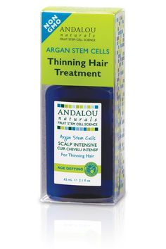 Andalou Naturals Argan Stem Cells Scalp Intensive for Thinning Hair