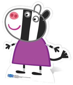 cardboard cutouts standees elegant lifesize cardboard cutout of zoe zebra from peppa pig cutouts of cardboard cutouts standees Cumple George Pig, Familia Peppa Pig, Peppa Pig Teddy, Aniversario Peppa Pig, Cumple Peppa Pig, Peppa Pig Family, Personalized Birthday Banners, Pig Character, Pig Birthday