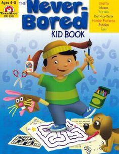 The Never-Bored Kid Book - Evans, Joy, and Moore, Jo Ellen