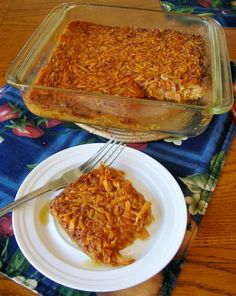 Sweet Potato Pone - Traditionally Soul Food. Can be served as a dessert or side dish.