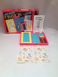 Fashion Plates Tomy Toys