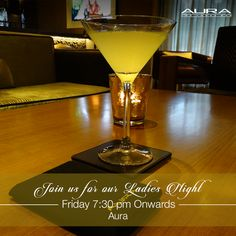 If you love a wild Friday night and you're looking forward to complimentary cocktails, then Aura is the place to be tonight!