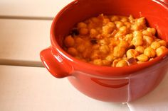 quick curried chickpeas