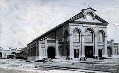 Oficina Cia. Mogiana - década de 1920 Brazil, Louvre, Mansions, Architecture, House Styles, City, Building, Design, Vintage