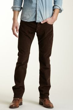 brown corduroy pants - Pi Pants