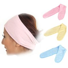 1 PC Spa Bath Shower Headband Make Up Wash Cosmetic Head Wrap Hair Band  for Pregnant Women Scarf Hat Postpartum Wind Cold Z3