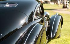 The 2012 Louis Vuitton classic Award Winner-a 1938 Mercedes-Benz 540 K Autobahnkurier (Photo Nathan Leach-Proffer)