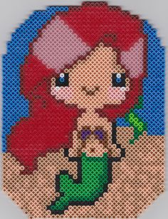 Ariel perler beads by TiernaLraet