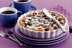 Ricotta-clafoutis met bramen en vanille - Recept - Allerhande
