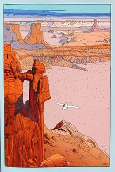 Moebius- comic art genius