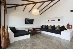 Diseño de Interiores & Arquitectura: Diseño Moderno Tropical Mezclado con Elementos Tradicionales Tailandesas: Casas del Sol