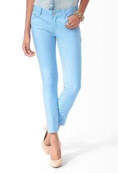 Ankle Length Denim Skinny Jeans | FOREVER21 - 2019572717 SIZE 28 $16