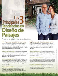 Las 3 Principales Tendencias En Diseño De Paisajes - Página 1 - #BienesRaices #Weston #Florida
