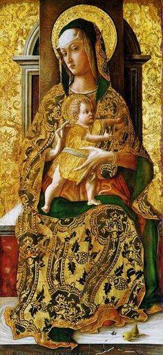 Carlo Crivelli ~ Madonna and Child, 1470