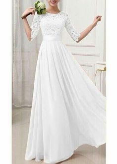 Wonderful Perfect Wedding Dress For The Bride Ideas. Ineffable Perfect Wedding Dress For The Bride Ideas. Pretty Dresses, Beautiful Dresses, Amazing Dresses, Beautiful Ladies, Simply Beautiful, Dream Wedding Dresses, Wedding Attire, Wedding Dress Casual, Cheap Wedding Dress