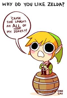 Zelda and Link answer the big question in Tumblr... | Rampaged Reality