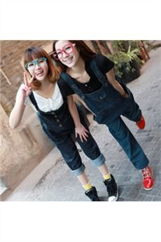 Spring Autumn New Arrival Fashion Maternity Dress Long Korean Jeans Dungarees Overalls