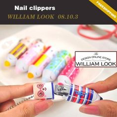 Min.order is $25 (mix order)kawaii lovely cartoon nail scissors nail clipper cutter knife manicure tools promotion gift MMA08103 on AliExpress.com. $1.46