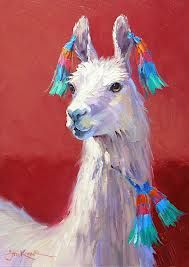 llama painting - Google Search