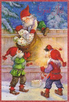 christmasillustr.quenalbertini: Gracia Arias & Juan Vernet Art