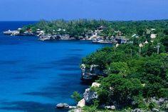 Wonderful Coastline of Jamaica (Caribbean Island)