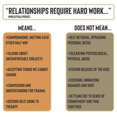 "Maria Sosa, MS, MFT, Therapist on Instagram: ""You don't have to betray yourself or your needs for the sake of making a relationship work. . Relationships require intentional effort and…"""