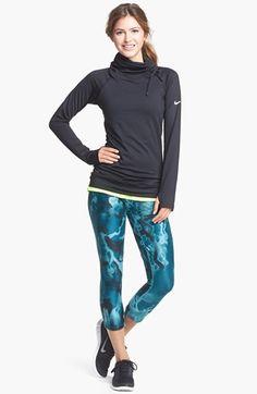 Nike 'Pro Hyperwarm' Training Top #nike #workout #running http://www.FitnessApparelExpress.com