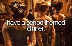 They should've specified it to be a TIME period dinner because a lot of people will think differently by what it says XD