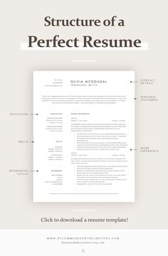 Are you looking for a editable resume example? Sign up for our job search ideas and download this examples for free. You can easily adjust it in MS Word or Pages. Basic Resume Examples, Professional Resume Examples, Free Professional Resume Template, Professional Tools, Resume Writing Tips, Resume Tips, Writing Guide, Resume Skills, Resume Cv