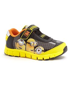 Look what I found on #zulily! Yellow Despicable Me Minions Sneaker - Toddler & Kids by Despicable Me #zulilyfinds