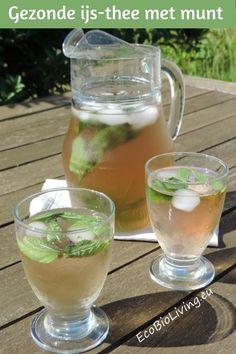 s via mail te ontvangen. Je krijgt dan via é Refreshing Drinks, Summer Drinks, Cocktail Drinks, Cold Drinks, Smoothie Fruit, Smoothie Drinks, Healthy Drinks, Healthy Recipes, Ginger Juice