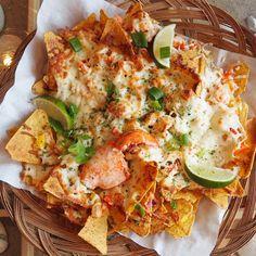Iles-de-la-Madeleine : Nachos au homard de La Salicorne