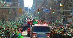 St Patrick's Day parade - Buffalo NY 2013