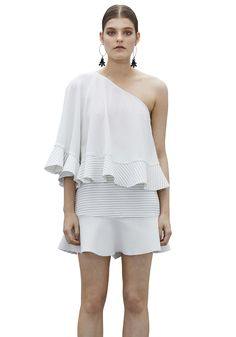 BY JOHNNY  - Ilona One Shoulder Angel Top