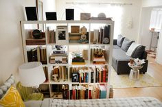 House tour: a harmonious oakland studio apartment therapy. House, Home, Glass Room, Glass Room Divider, Room Diy, Diy Room Divider, Rustic Room, Bamboo Room Divider