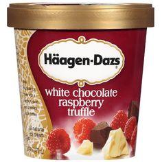haagen dazs white chocolate raspberry truffle - Google Search