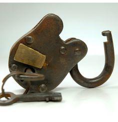 "3"" Brass Antique Locks  $4.50   with 2 keys"