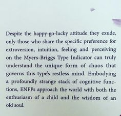 campaign personality Couldnt have said it better myself Enfp Personality, Myers Briggs Personality Types, Libra, I Am A Unicorn, Ambivert, Myers Briggs Personalities, Feelings, Words, Quotes