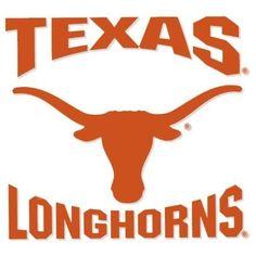 University of Texas Longhorns Vinyl Decal Texas Longhorns Football, Texas College Football, Ut Football, Ut Longhorns, Baseball, Hook Em Horns, Texas Forever, Texas Pride, University Of Texas