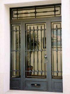 Ideas Para, Door Entry, Iron Work, Door Design, Oaxaca, Grills, Console  Tables, Wrought Iron, Cannes