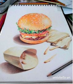 3D Pencil Drawings and Art works