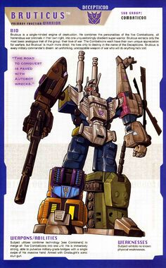 Transformer of the Day: Bruticus