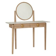Buy Bethan Gray for John Lewis Genevieve Marble Top Dressing Table, Oak Online at johnlewis.com