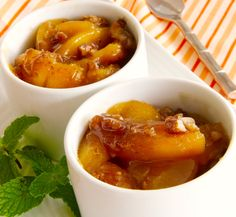 Fast Fresh Fruit Recipes | Baked Peaches