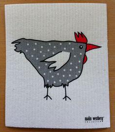 scandinavian stitches - LOVE this for my chicken kitchen!